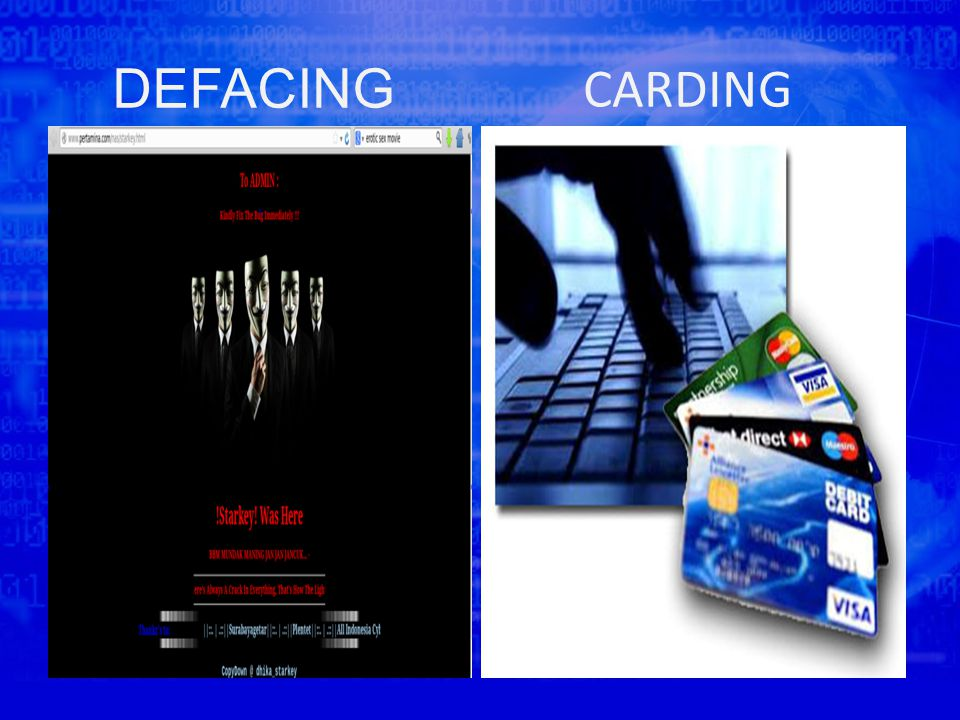 DEFACING CARDING