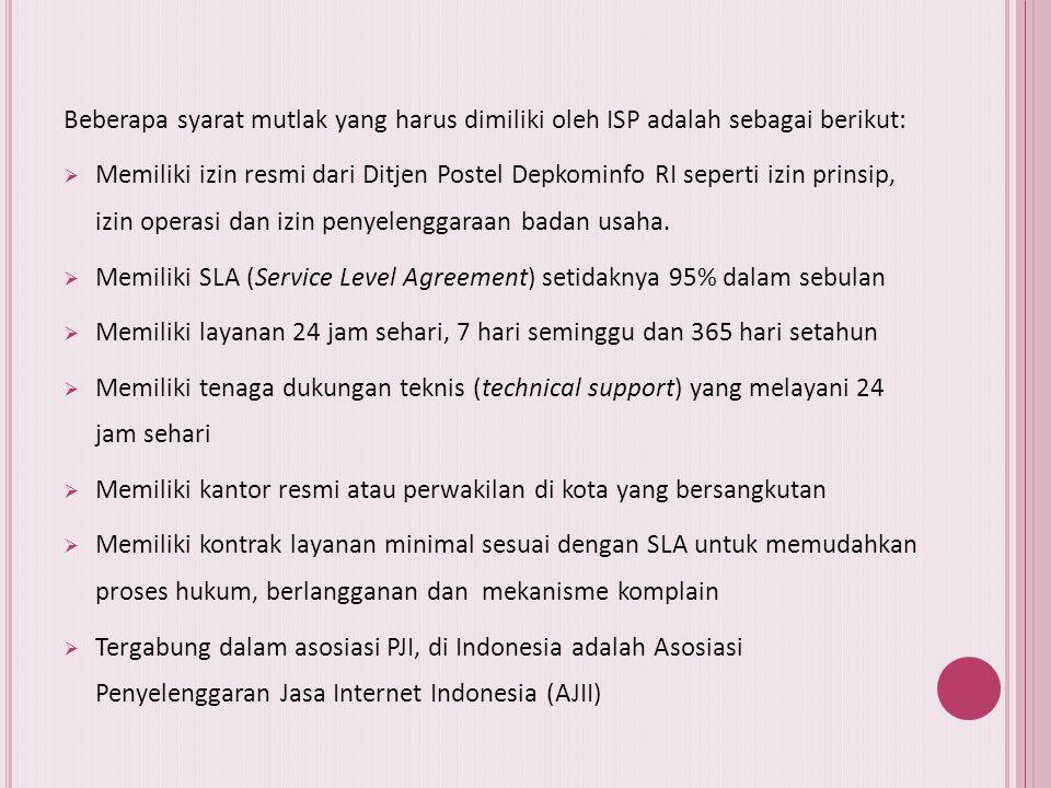 A. Pendahuluan Ada beberapa macam cara untuk mendapatkan akses internet diantaranya: 1. Akses internet dengan cara dial up ke ISP 2. Akses internet de