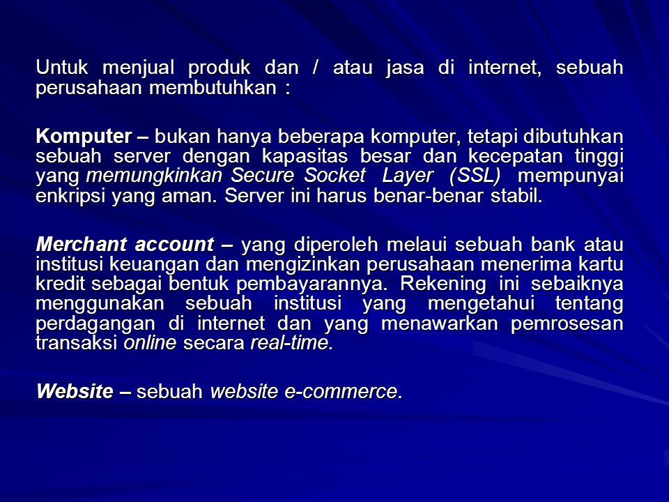 RUANG LINGKUP E-COMMERCE ELECTRONIC BUSINESS, merupakan lingkup aktivitas perdagangan secara elektronik dalam arti luas.