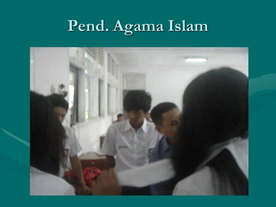 Pend. Agama Islam