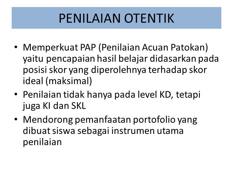 C.TEKNIK/CARA PENILAIAN 1.Penilaian Unjuk Kerja (Performance) 2.