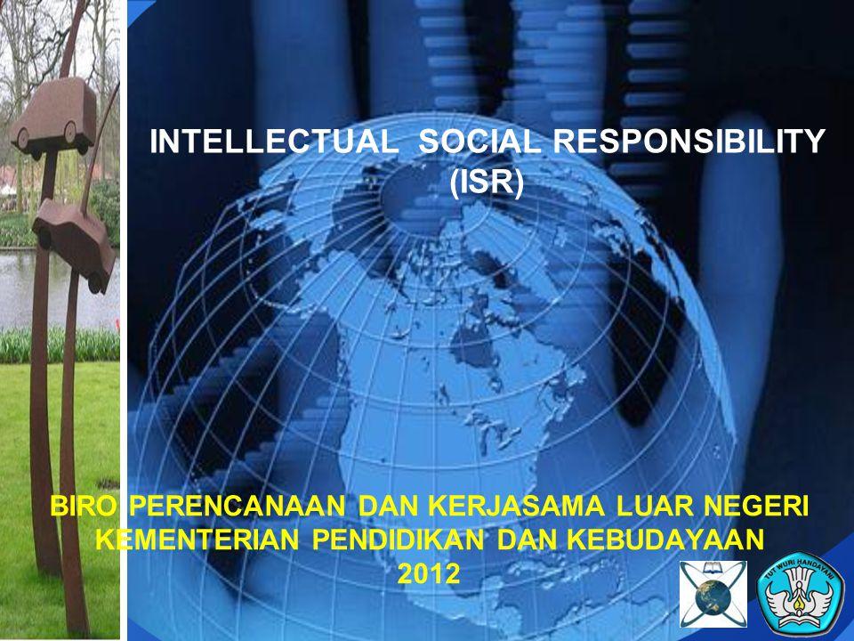 Example of ISR (1): winning student entrepreneurships program