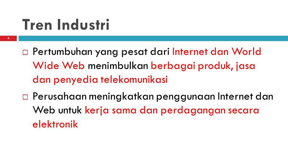 7 Spektrum Jasa Berbasis Telekomunikasi