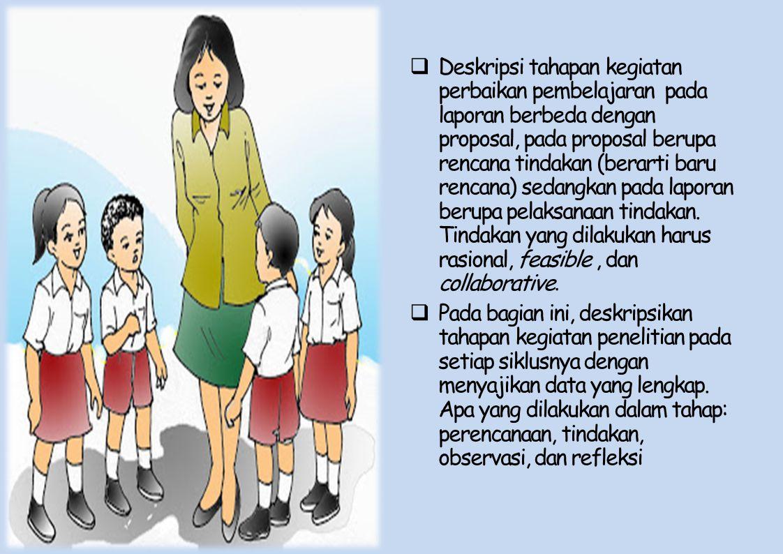 Desain Prosedur Perbaikan Pembelajaran.