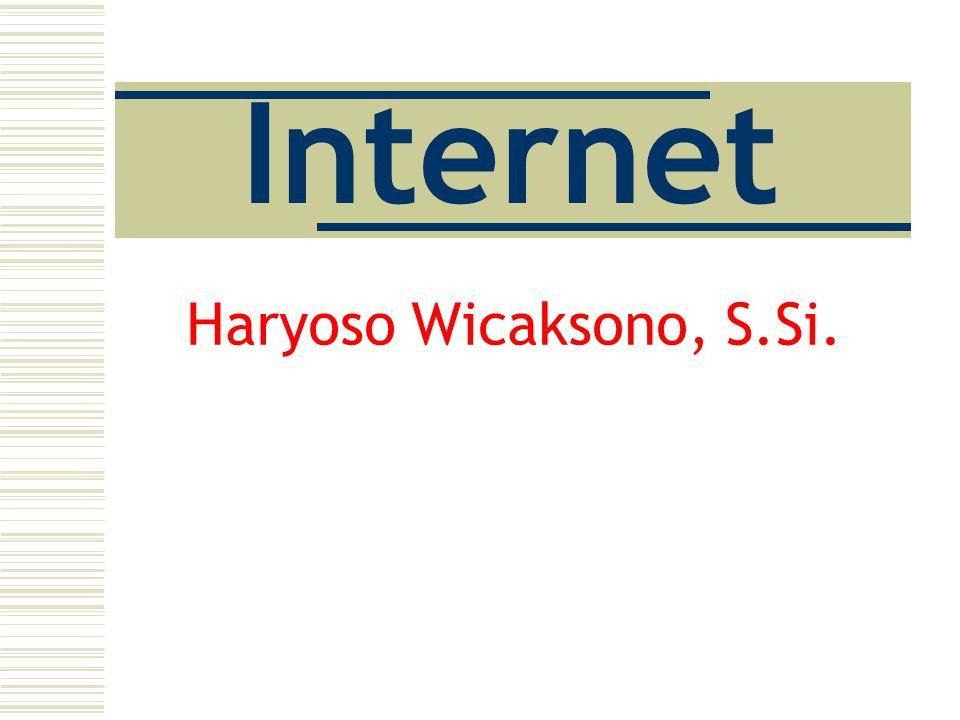 Internet Haryoso Wicaksono, S.Si.