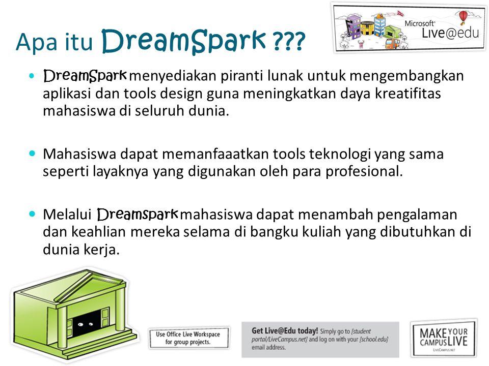 Apa itu DreamSpark .