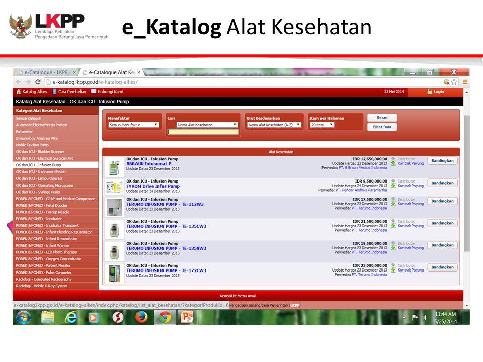 e_Katalog Alat Kesehatan