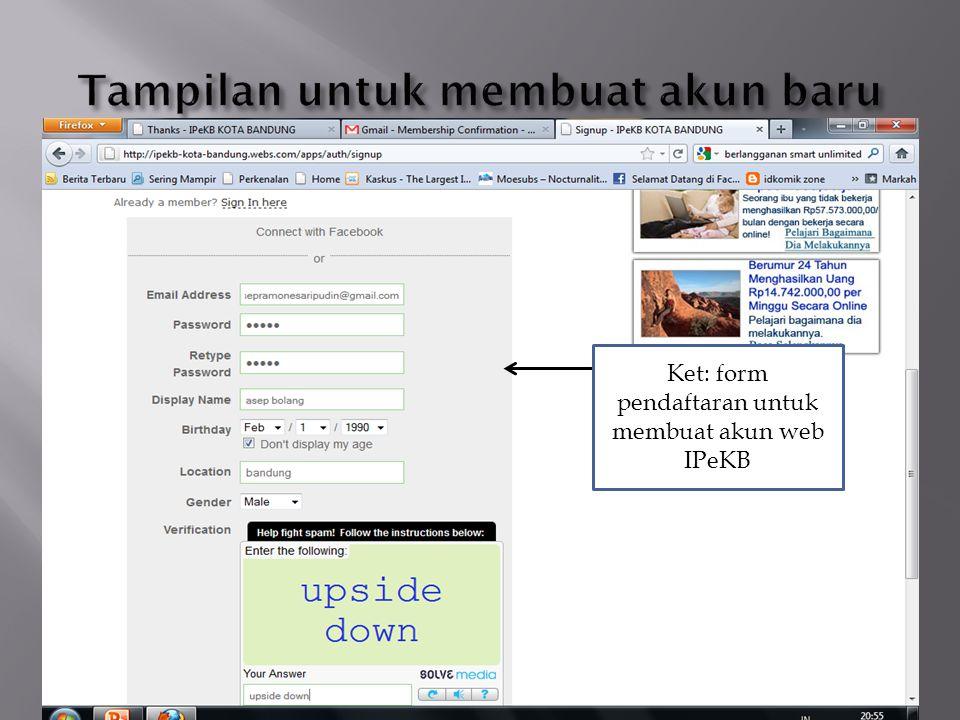 Klik menu documents data untuk masuk ke halaman documents data