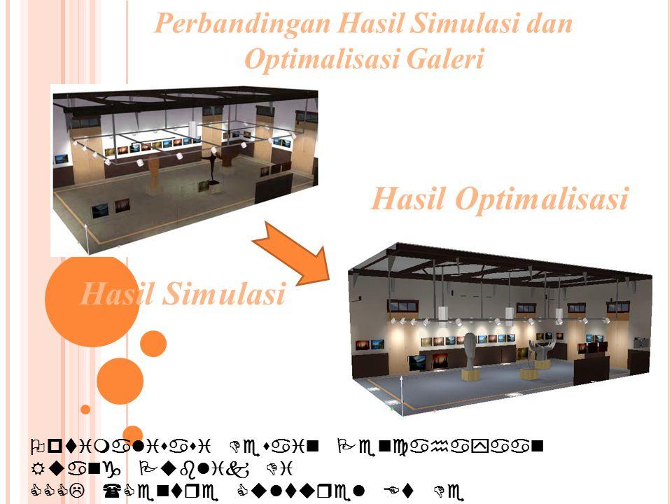 Optimalisasi Desain Pencahayaan Ruang Publik Di CCCL (Centre Culturel Et De Coopération Linguistique) SURABAYA Perbandingan Hasil Simulasi dan Optimal