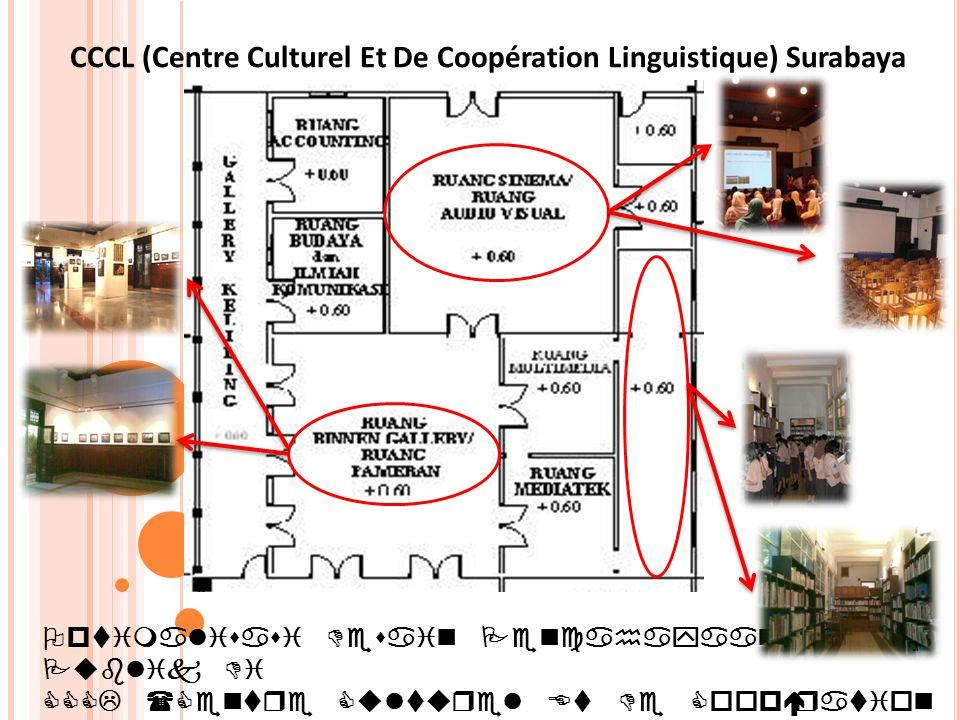 Optimalisasi Desain Pencahayaan Ruang Publik Di CCCL (Centre Culturel Et De Coopération Linguistique) SURABAYA CCCL (Centre Culturel Et De Coopération