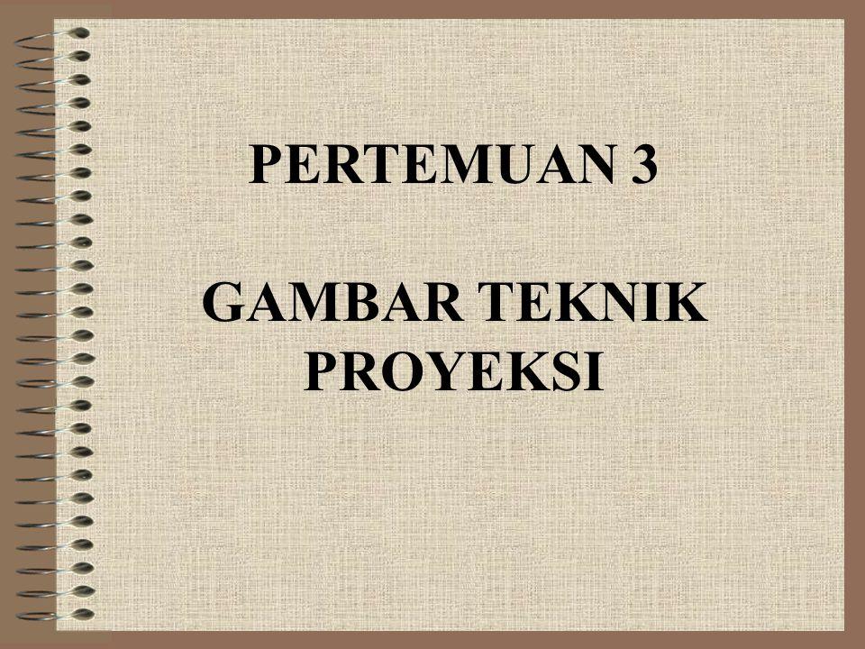 PERTEMUAN 3 GAMBAR TEKNIK PROYEKSI