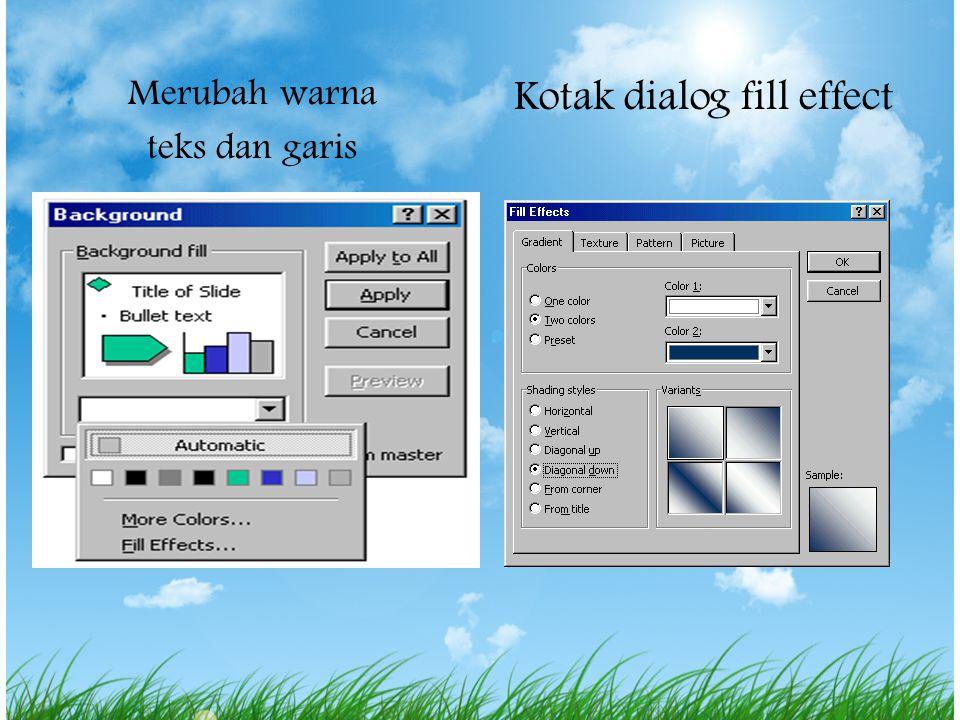 5. Texture tab Dari jendela texture, Pilih pengulangan background dengan mengggulung keatas bawah gambar atau klik Other Texture... untuk memilih gamb
