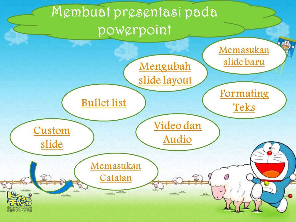 Pengertian Microsoft Powerpoint Microsoft PowerPoint atau Microsoft Office PowerPoint adalah sebuah program komputer untuk presentasi yang dikembangka
