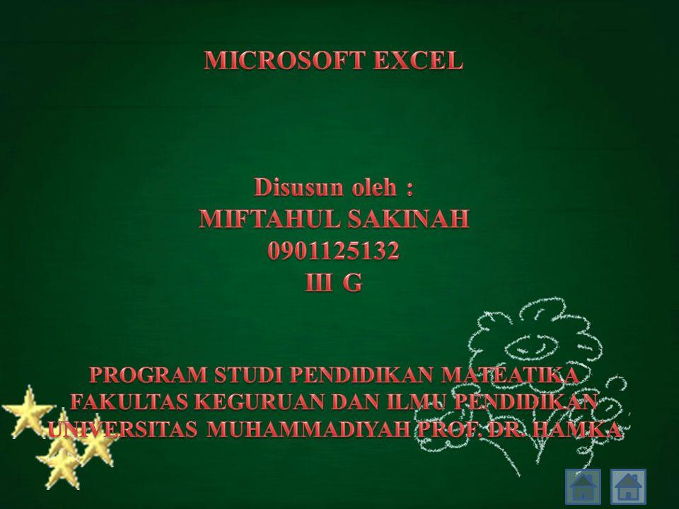  Mengenal Tipe Data Pada Excel 1.