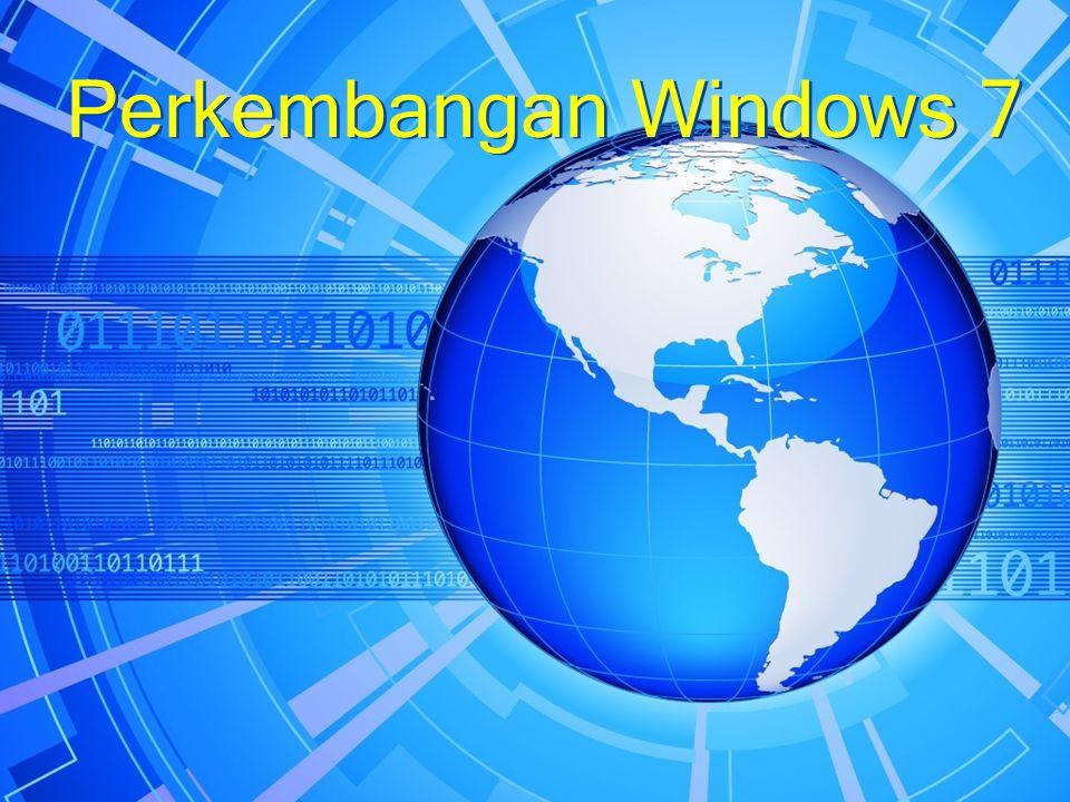  bulan Januari 2008 Microsoft mulai membagikan versi awal Windows 7 ke beberapa partner Microsoft.