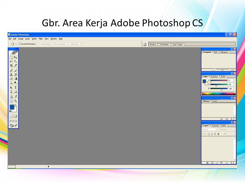 Mengenali Area Kerja Adobe Photoshop CS