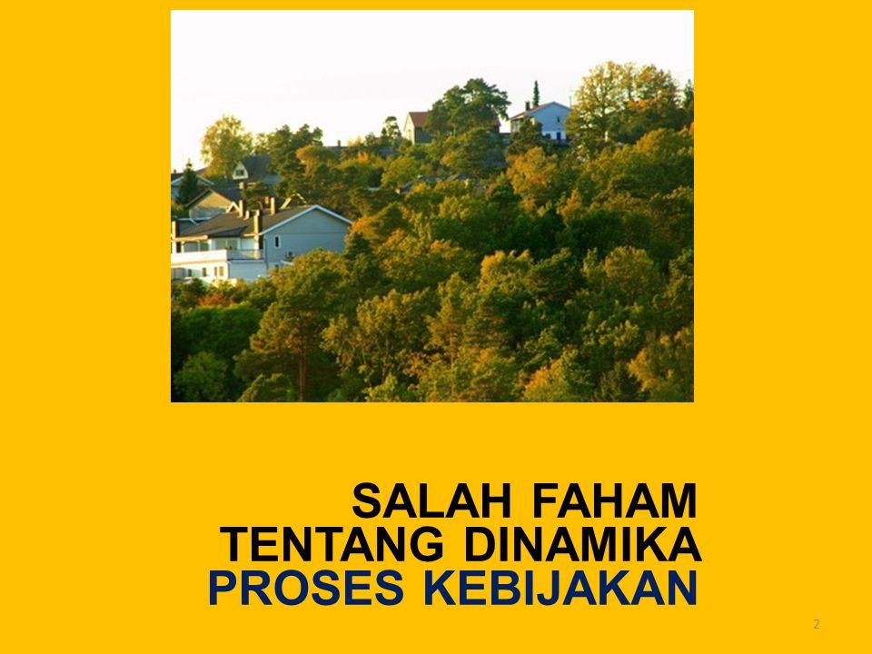 SALAH FAHAM TENTANG DINAMIKA PROSES KEBIJAKAN 2