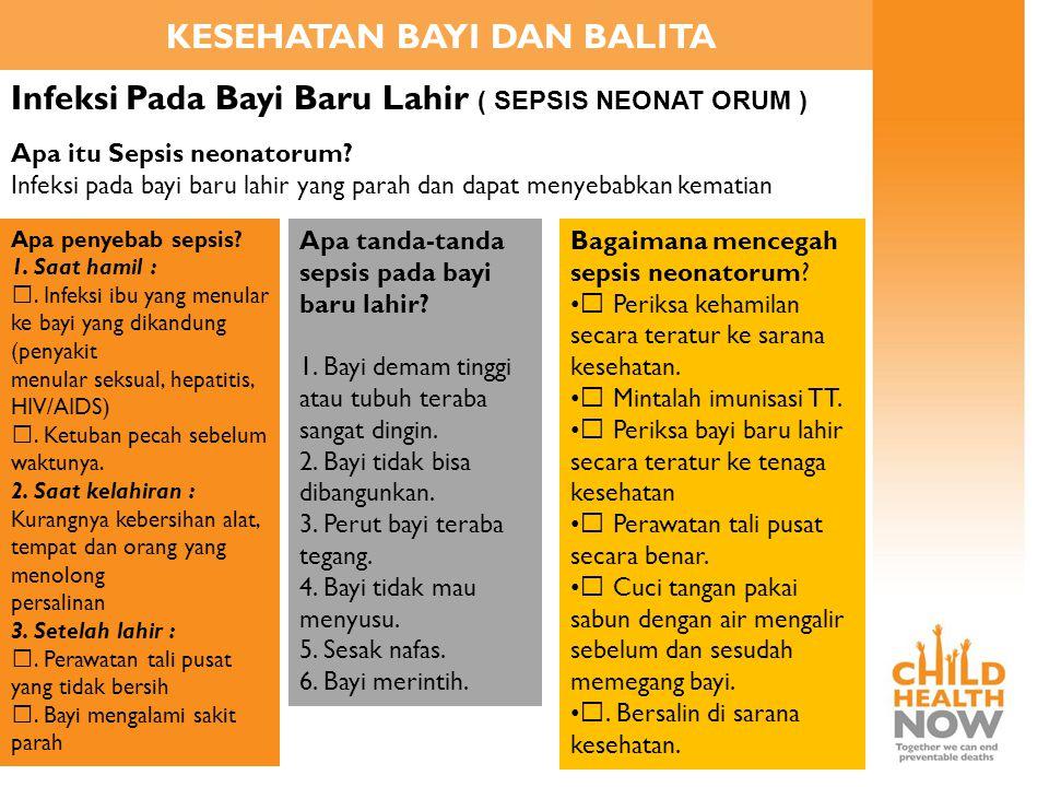 Referensi Presentasi Buku Pedoman Kesehatan Anak Kementerian Kesehatan Republik Indonesia