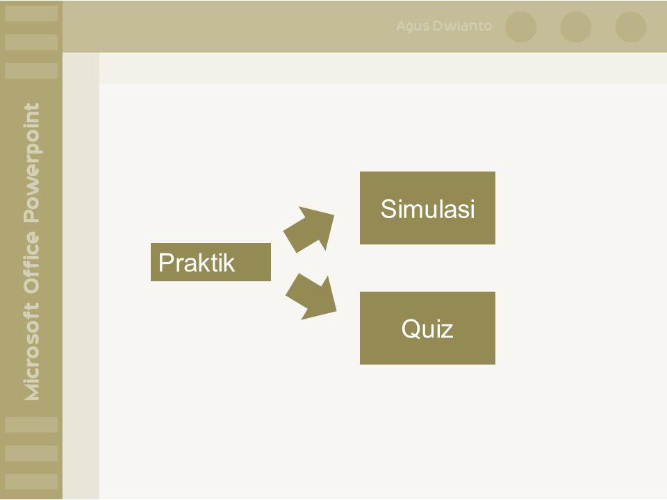 Praktik Simulasi Quiz
