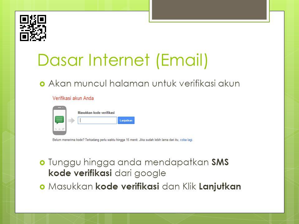  Akan muncul halaman untuk verifikasi akun  Tunggu hingga anda mendapatkan SMS kode verifikasi dari google  Masukkan kode verifikasi dan Klik Lanju