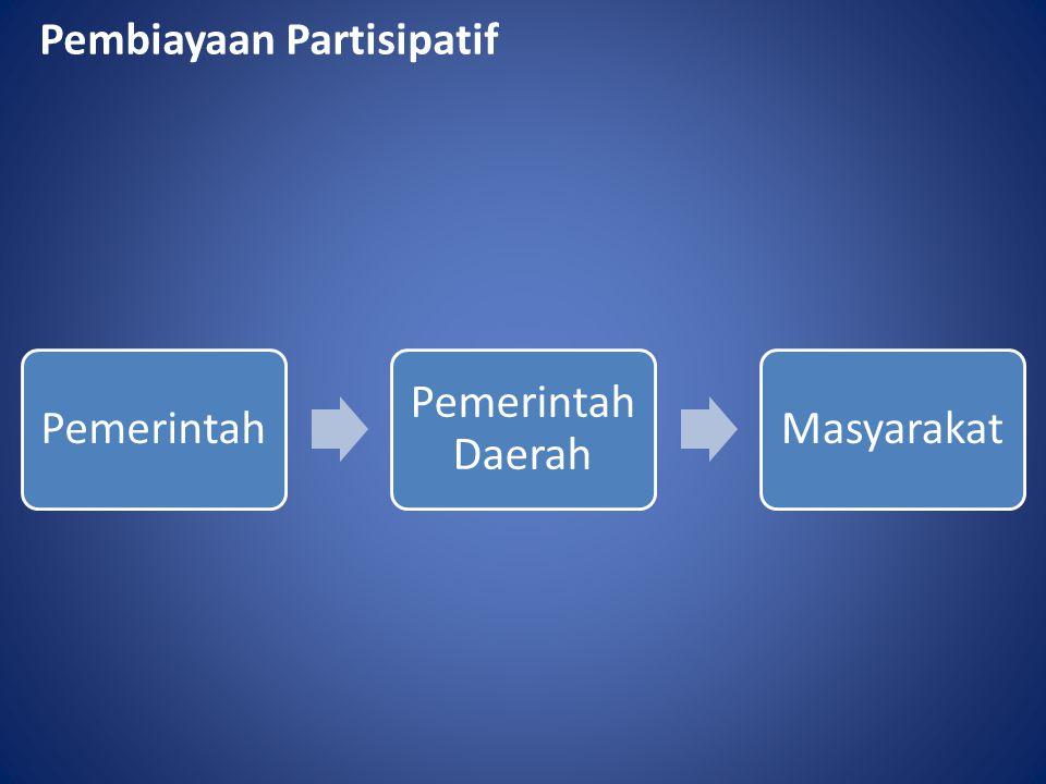 Pembiayaan Partisipatif Pemerintah Pemerintah Daerah Masyarakat