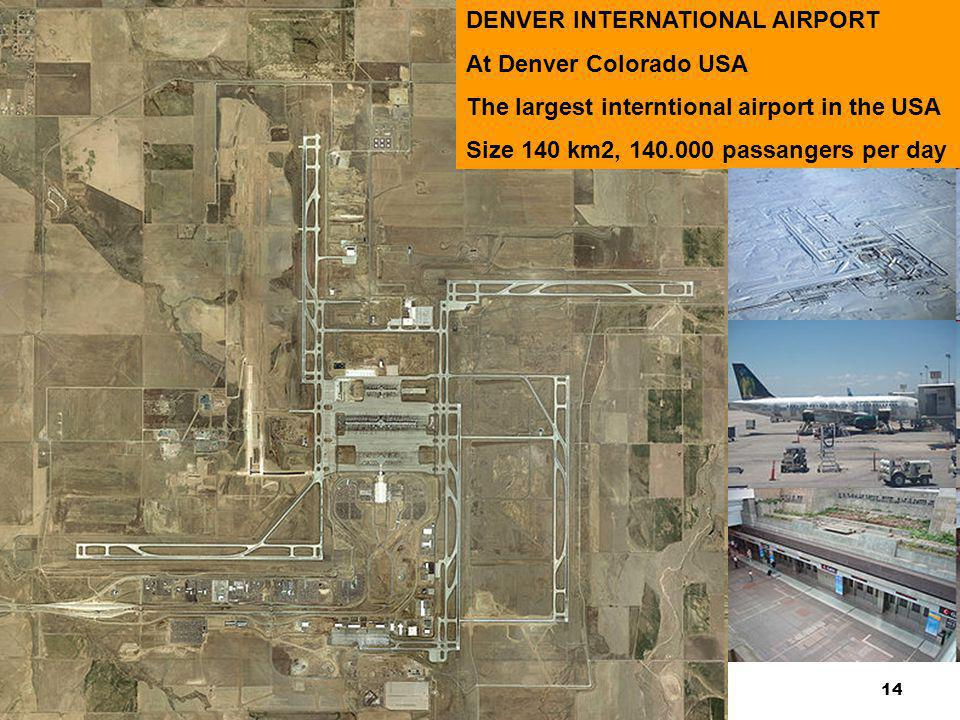 14 DISKUSI KASUS-KASUS PELANGGARAN KODE ETIK DENVER INTERNATIONAL AIRPORT At Denver Colorado USA The largest interntional airport in the USA Size 140