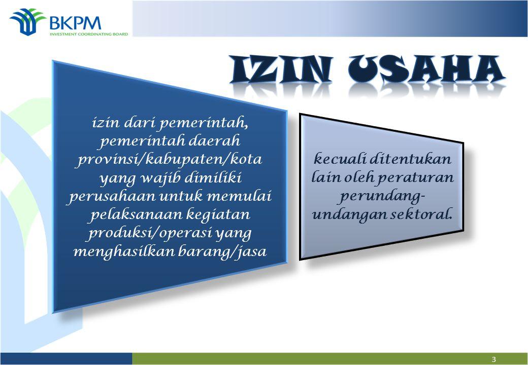 2 UU No. 25 th 2007 tentang Penanaman Modal UU No. 40 th 2007 tentang Perseroan Terbatas Perpres No. 27 th 2009 tentang Pelayanan Terpadu Satu Pintu P