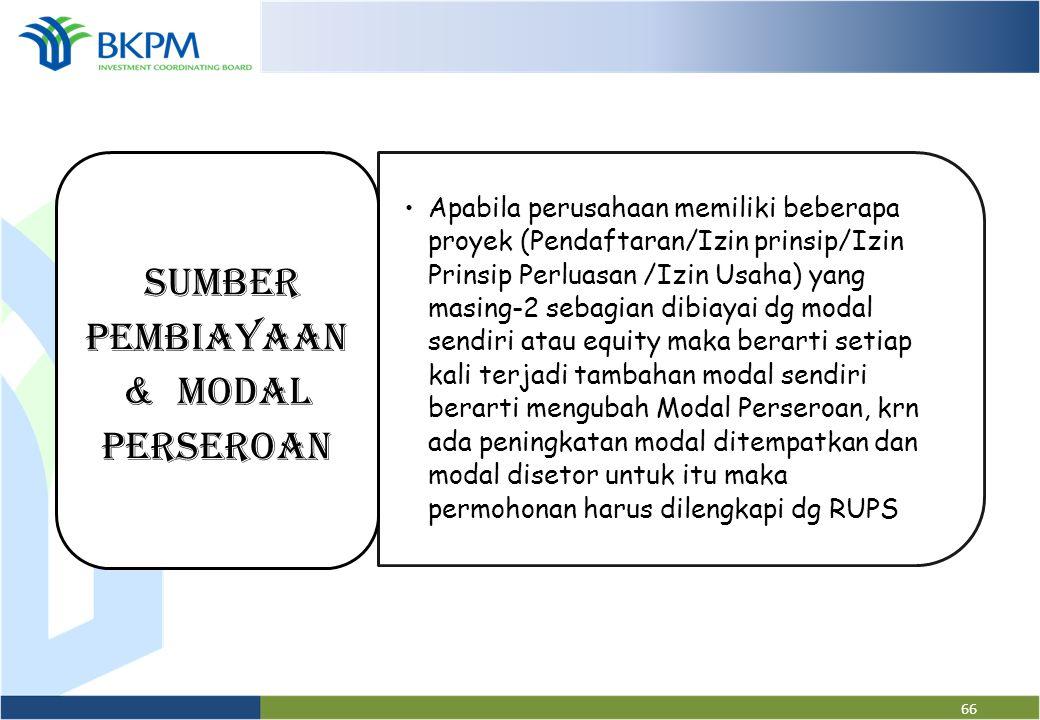 65 PENGISIAN FORMULIR • Diisi sumber pembiayaan yg terdiri dari: modal sendiri dan atau laba ditanam kembali dan modal pinjaman PENILAIAN • Jml SP : m