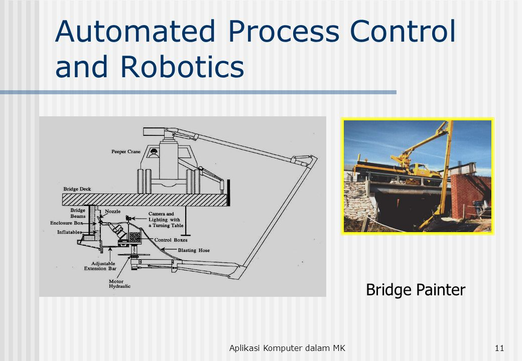 Aplikasi Komputer dalam MK11 Automated Process Control and Robotics Bridge Painter