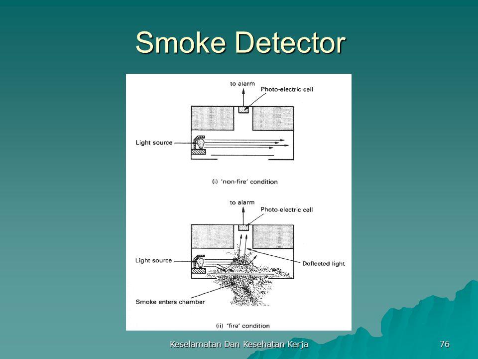 Keselamatan Dan Kesehatan Kerja 76 Smoke Detector