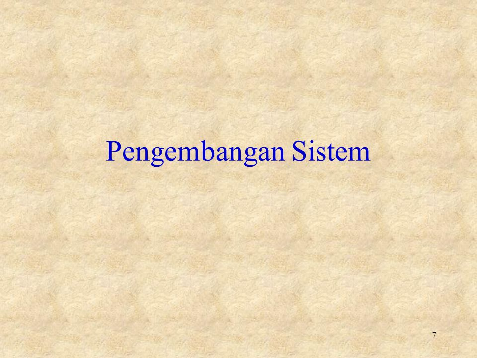 Tahap Investigasi Awal •Pengembang sistem dan pengguna: –Mempelajari tentang organisasi dgn masalah sistemnya –Mendefinisikan tujuan, hambatan, risiko dan ruang lingkup sistem baru –Mengevaluasi proyek maupun kelayakan sistem –Membagi sistem menjadi subsistem –Mendapatkan umpan balik pengguna 18