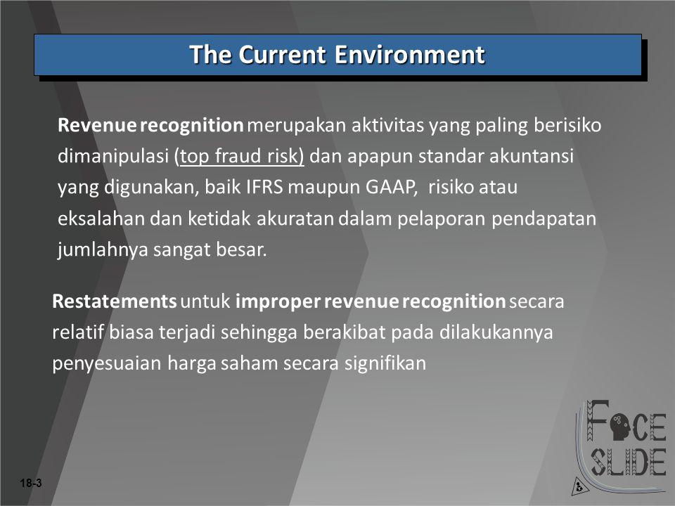 18-24 Harus menggunakan metoda Percentage-of-Completion jika estimasi kemajuan pekerjaan, pendapatan, dan kos reasonably dependable dan seluruh kondisi berikut ada: 1.