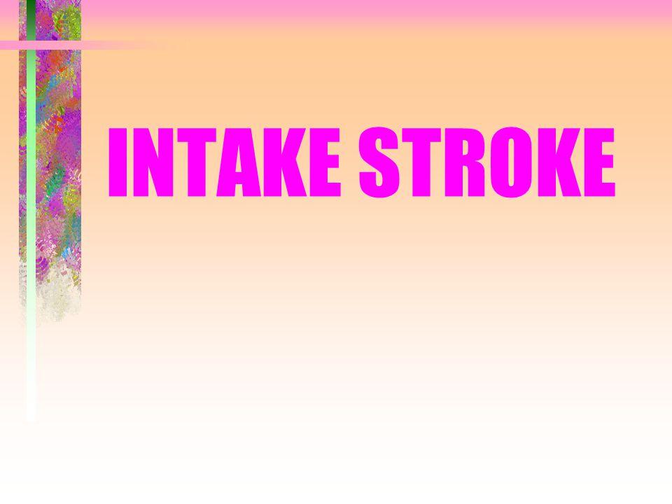 SIKLUS KERJA •Intake stroke •Compression stroke •Power stroke •Exhaust stroke Siklus kerja engine empat langkah adalah: