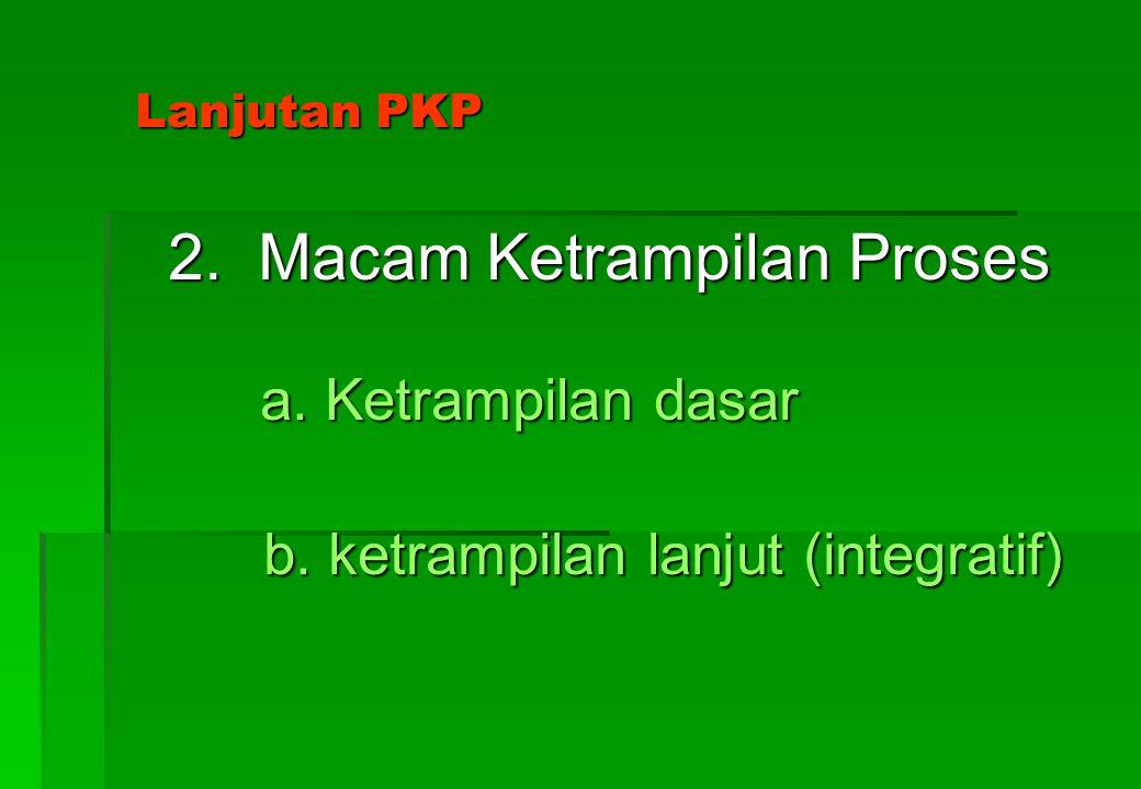 Pendekatan Ketrampilan Proses (PKP) 1. Arti Ketrampilan proses 1. Arti Ketrampilan proses Yang dimaksud ketrampilan proses adalah ketrampilan proses k