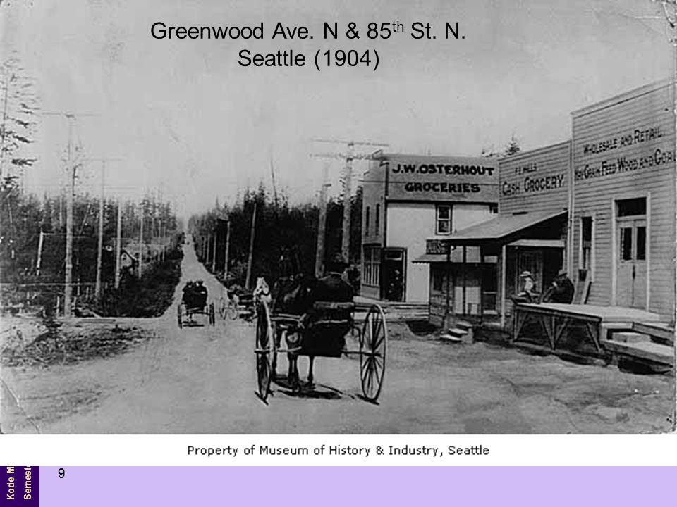 Kode MK Semester Ganjil 10 Last of the mail wagons Seattle (1913)