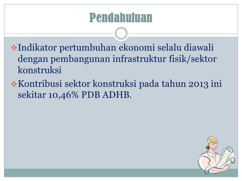 SKTh – 13 SKTr – 14  untuk memperoleh data perusahaan konstruksi keadaan tahun 2013 tentang struktur dan ciri-ciri sektor konstruksi di Indonesia  Karakteristik yang diteliti meliputi - banyaknya tenaga kerja dan balas jasa - pemakaian tenaga listrik, pemakaian bahan bakar - pendapatan dan pengeluaran sektor konstruksi - bahan bangunan yang digunakan - pembentukan barang modal, dan lain- lain.