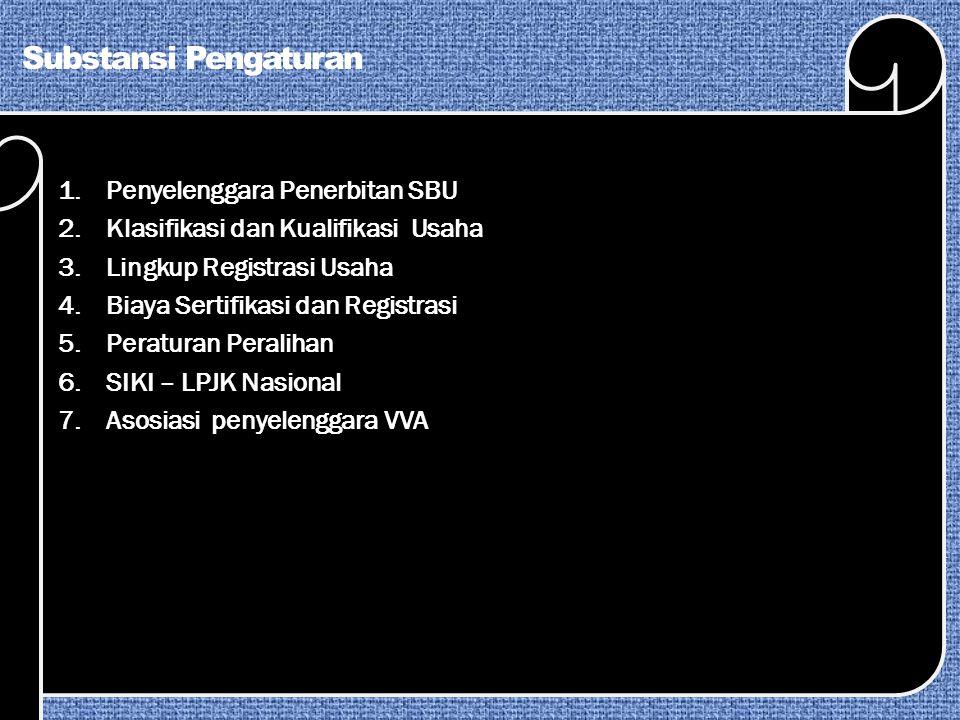 Persyaratan Penyelenggara VVA Tk Provinsi 7.