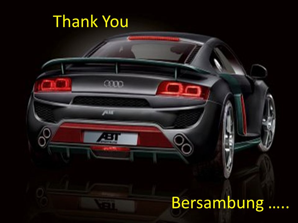 Thank You Bersambung …..