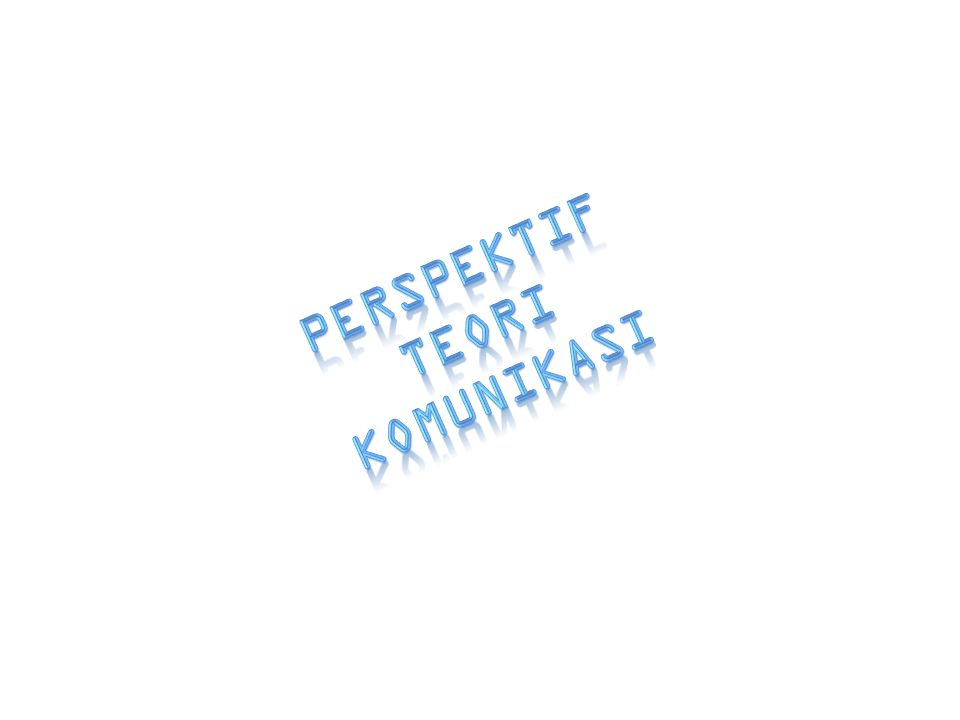 22 IV.PERSPEKTIF KONSTRUKTIVISME A.