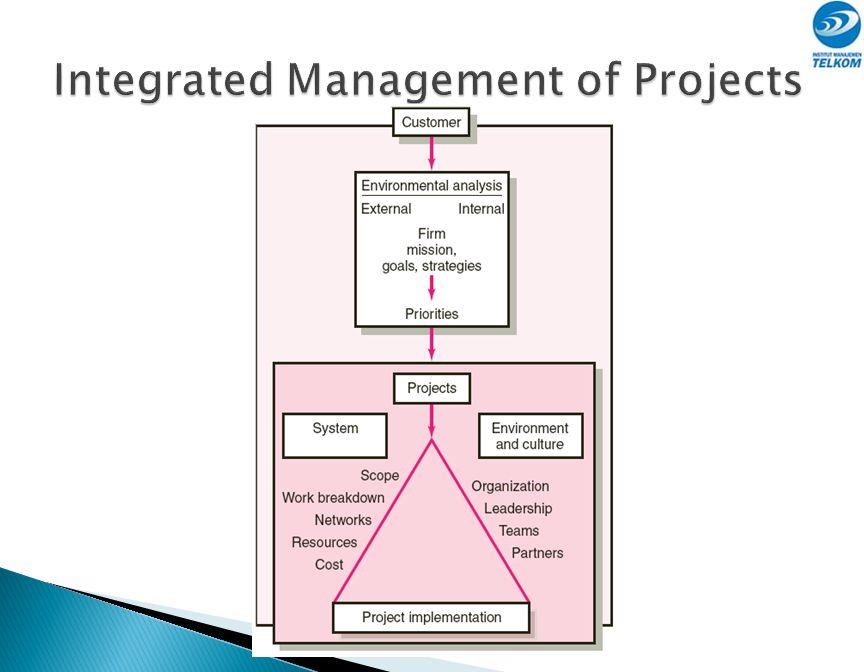  Para pemangku kepentingan (stakeholders) adalah setiap orang yang terlibat dalam atau terkait dengan aktivitas proyek. Seperti: ◦ Sponsor proyek ◦ M