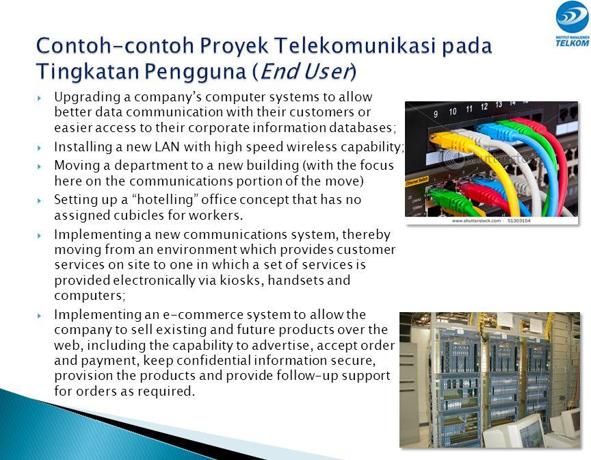 Mata Rantai Industri Telekomunikasi