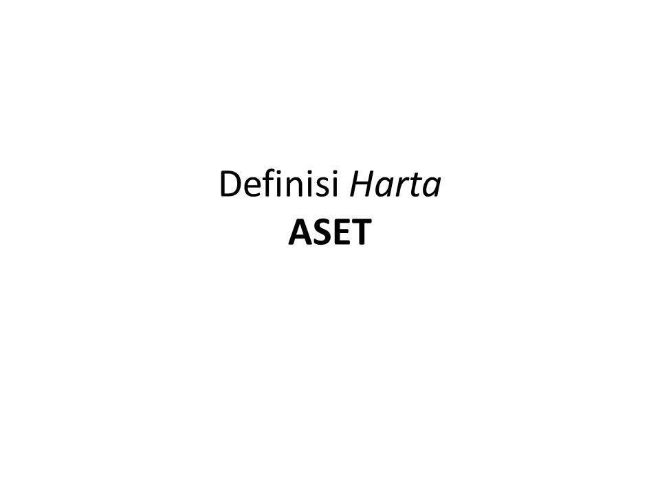 Definisi Harta ASET