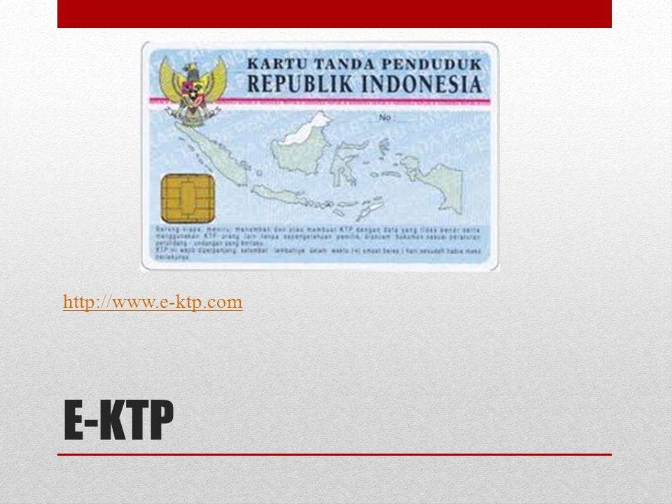 E-KTP http://www.e-ktp.com