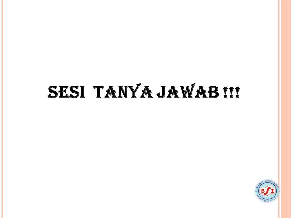SESI TANYA JAWAB!!!