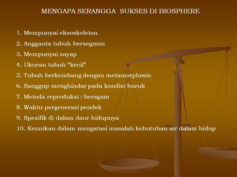 Di Indonesia : * Sekitar 450 spp dari sekitar 3000 spp yang ada di dunia - 80 spp Anopheles - 125 spp Aedes - 82 spp Culex Peran nyamuk : 1.