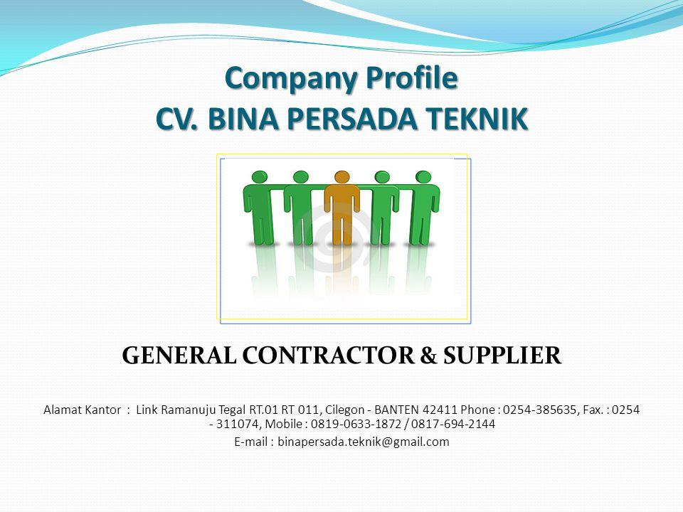 Company Profile CV.
