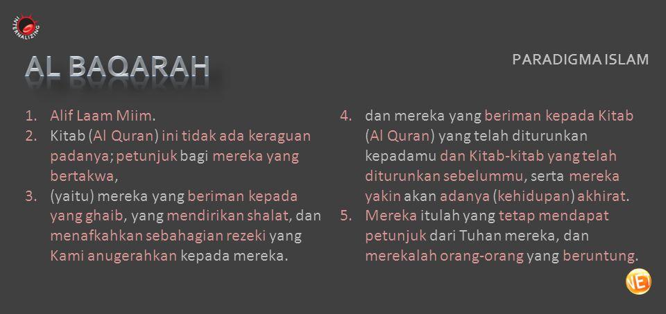 HIJRAH Ummul Kitab al Qur'an memberi kemampuan membedakan antara berpikir dan meniru berpikir