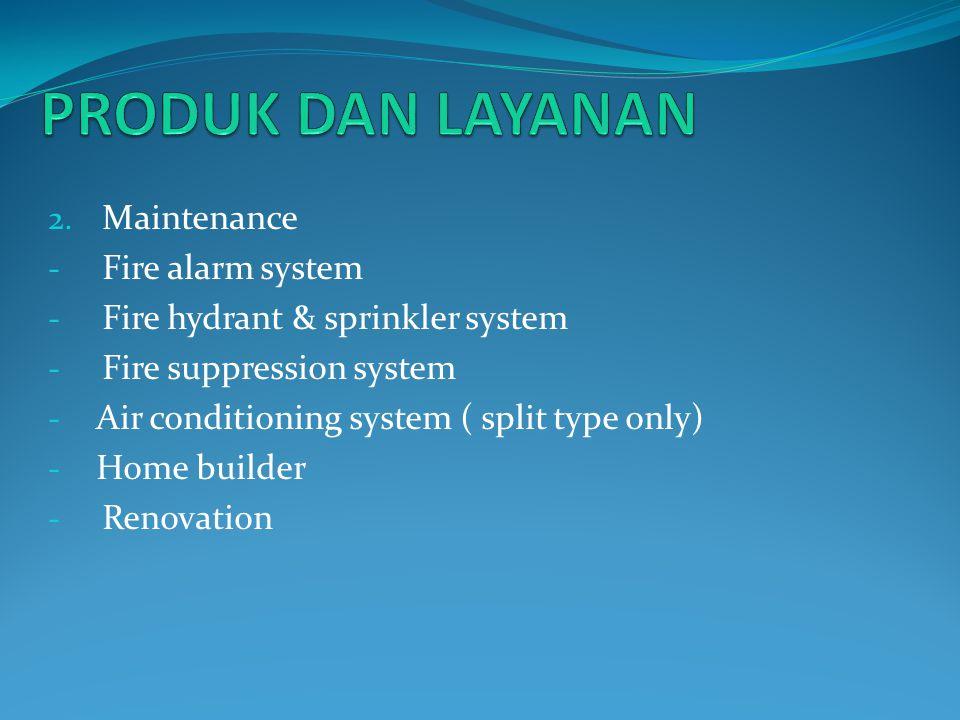 Hubungi kami MITRA MANDIRI SELARAS Mechanical & Electrical Contractor, Maintenance and supply Jl.