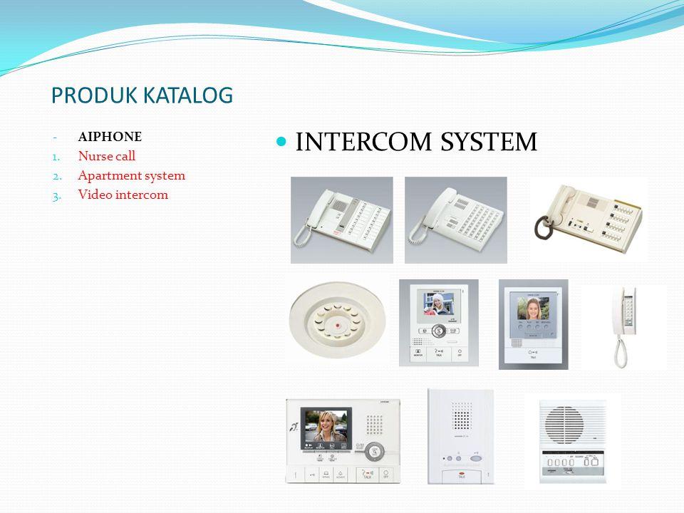 PRODUK KATALOG - Addressable system - Conventional system 1.