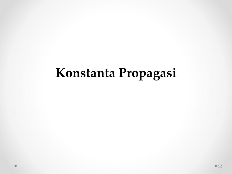 Konstanta Propagasi 52